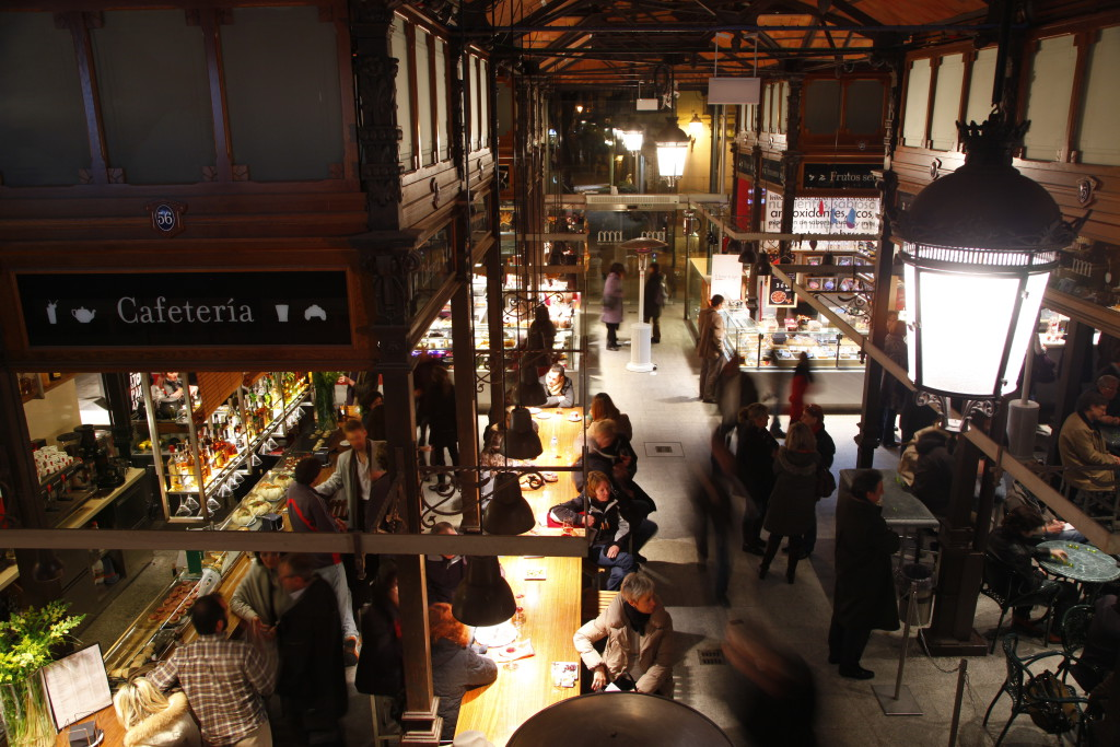 Madrid. Mercado de San Miguel - Interior